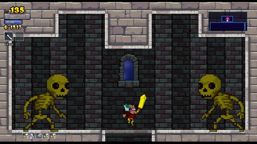 Rogue Legacy Skeleton Mini Bosses