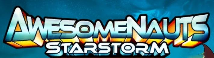 Awesomenauts Starstorm Title